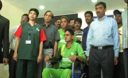 Cricket Captain Zeeshan Abbasi