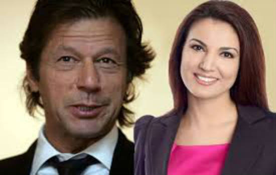 Imran Khan with Reham