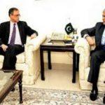 Rachid Benmessaoud with Ishaq Dar