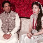 sharmila farooqi with husband