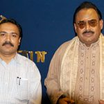 Kanwar Naveed With Altaf Hussain