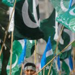 pakistan and religious parties flags