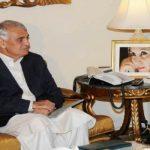PPP KPK president Khan Zada Khan