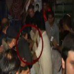 Imran Khan hit worker