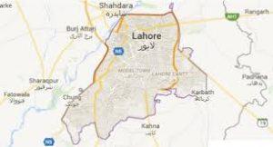 lahore located in