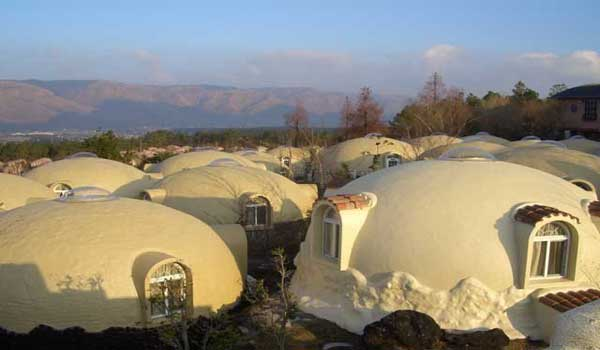 Protect In Earthquake Dome Homes Built On Styrofoam