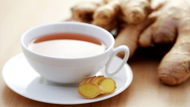 how to make ginger tea for cold