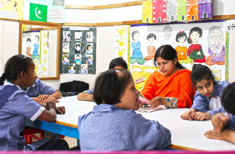which schools are good for special children in karachi