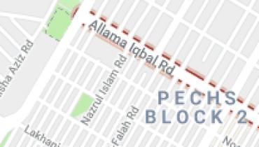 Allama Iqbal Road, PECHS Karachi – Shop & Office Price -